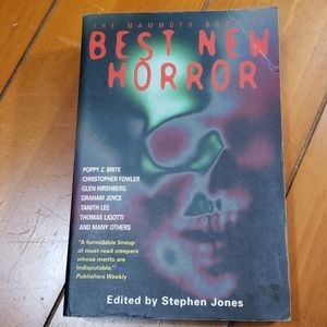 The Mammoth Book of Best New Horror books